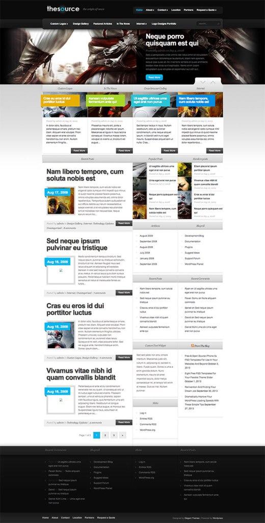 thesource wordpress theme