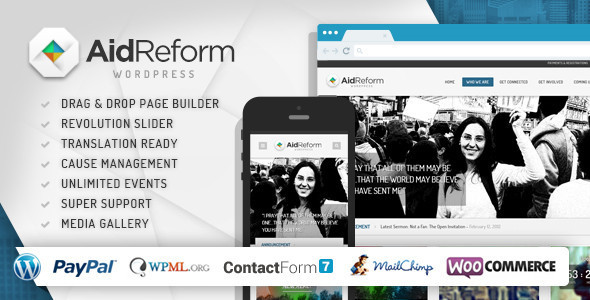 aid reform wordpress theme