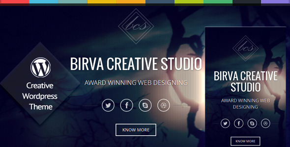 birva wordpress theme