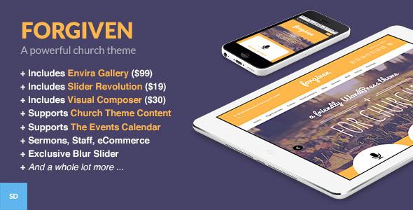 forgiven wordpress theme