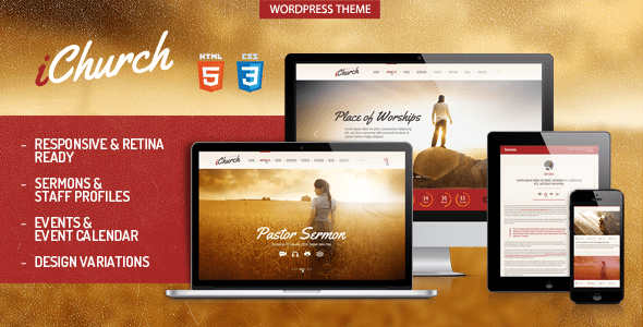 ichurch wordpress theme