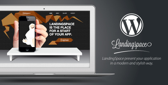 landingspace wordpress theme