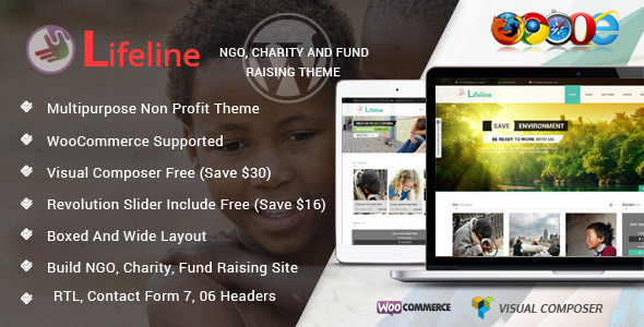 lifetime ngo wordpress theme