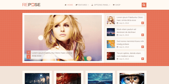 repose wordpress theme