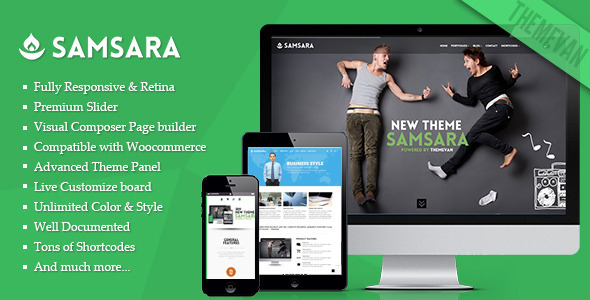 samsara wordpress theme