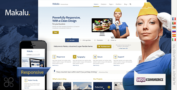 makalu wordpress theme