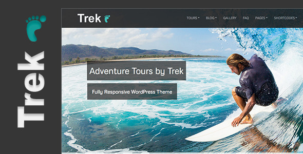 trek wordpress theme