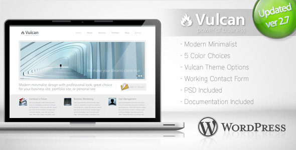 vulcan wordpress theme