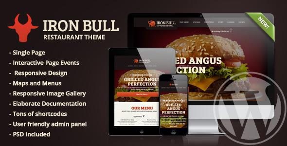 iron bull wordpress theme