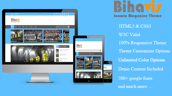 bihavis-joomla-template