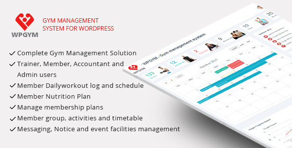 wordpress-gym-management-plugin