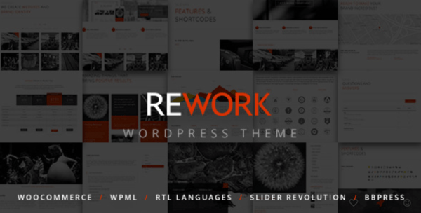 rework modern wordpress theme