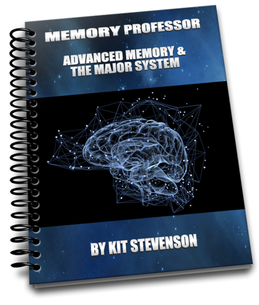 The Memory Professor System  Image of Cover Advanced New Sky blue