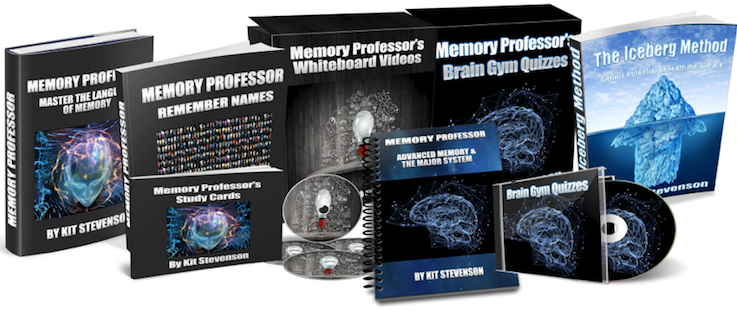 The Memory Professor System  Image of NEW COVER GROUP no line