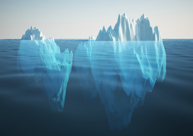 The Memory Professor System  Image of screen icebergs sales page