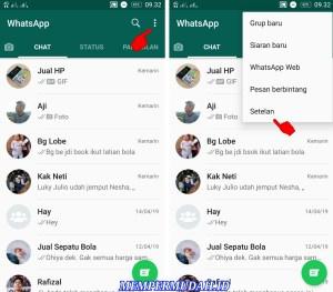 Cara Mematikan Notifikasi Pesan Masuk WhatsApp Android 1