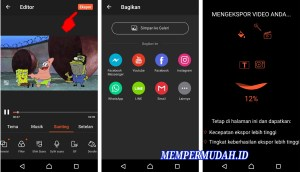 Aplikasi Edit Video DubbingMemasukan Suara di HP Android 10