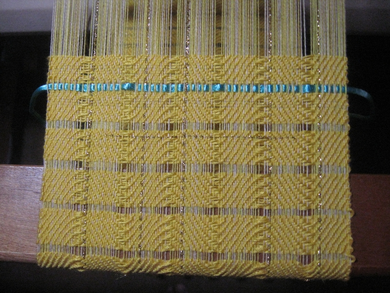 warp and weft spaced scarf