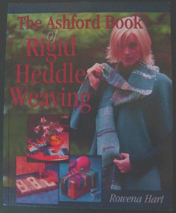 Rowena Hart's The Ashford Book of Rigid Heddle Weaving