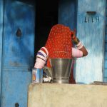 Portrait, Lady in Purdah, Rajasthan
