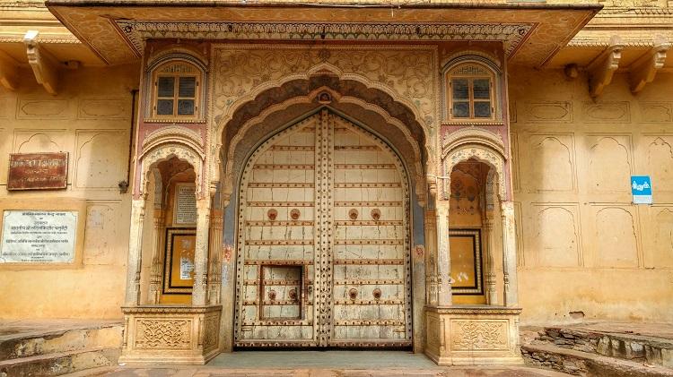 Naila City Palace Entrance