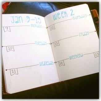 Week 2...Week on 2 pages