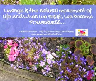 Change...