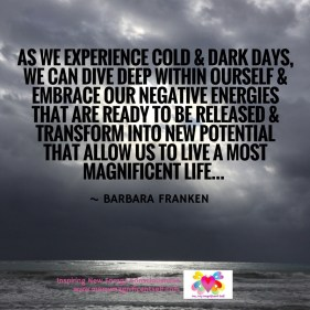 Cold & Dark Days...