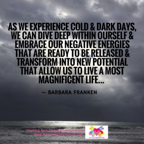 Cold & Dark Days...
