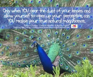 Open up your perception...