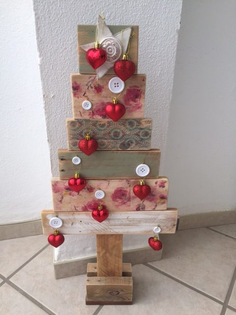 Celebrating Christmas with a Natural Wooden Christmas Tree