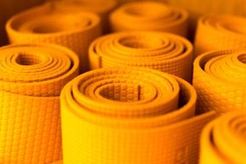 Yogastudio matten