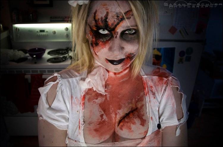 Nurse on Halloween 800x