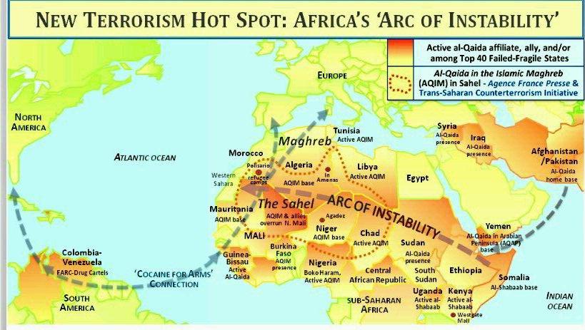 Sahara Watch Org map