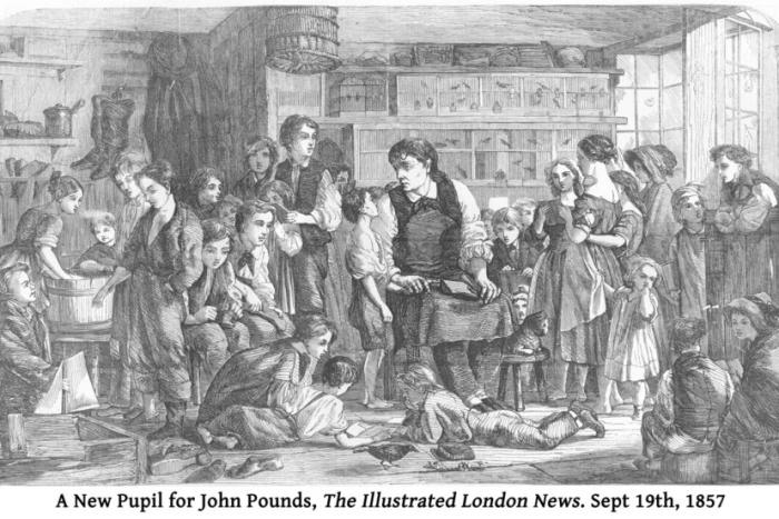 A popular image of John Pounds seen as far as the USA