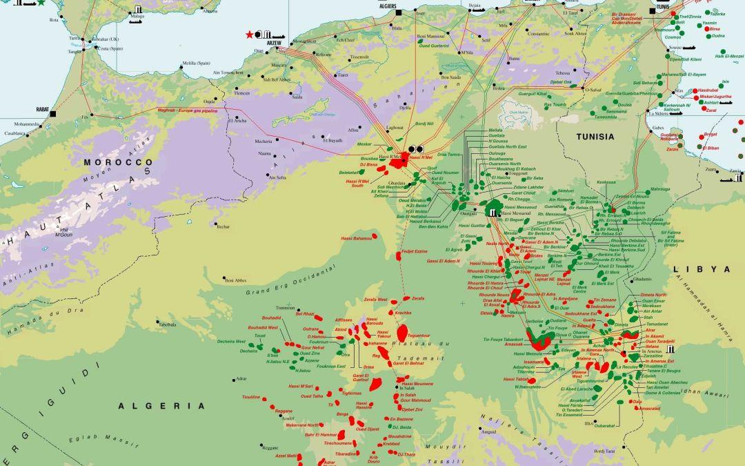 Algeria's Oil & Gas output up