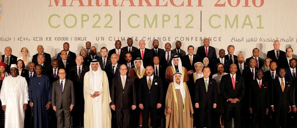 COP22 International Conference VIPs
