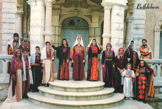 How has Palestinian traditional clothing changed over time?