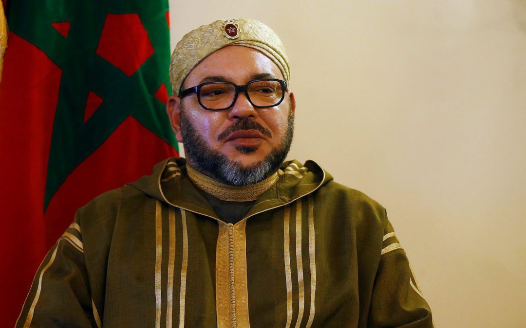 The King reigns over and / or rules Morocco