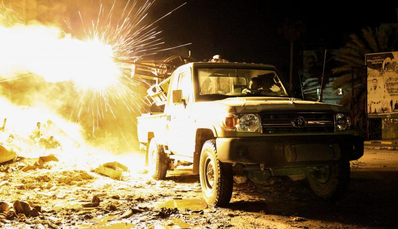 Power Vacuum induced semi-permanent violence in Libya