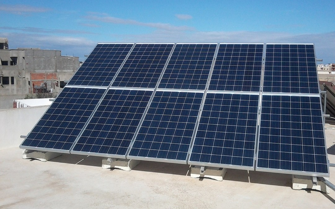 Solar Power Plants for North Africa