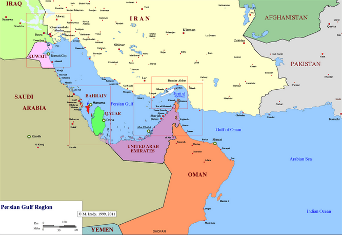 Crises between Qatar and its Neighbours