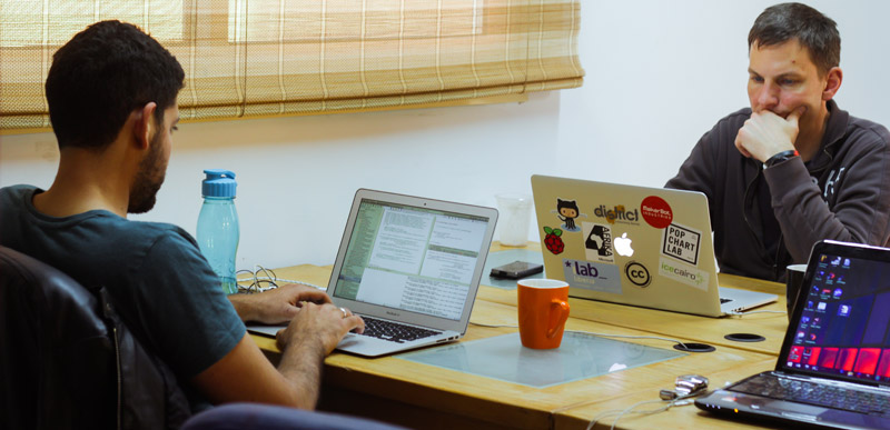 Egyptian Women in the Informatics Coding Industry