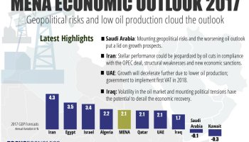 Global Recovery is incomplete with MENA's Share Modest