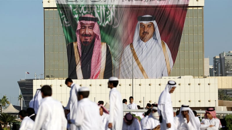 Qatar being presently blockaded by its neighbouring countries