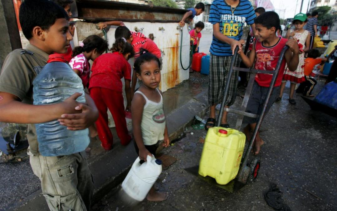 Water supply and sanitation in the Palestinian territories