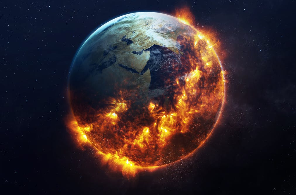 "Rise by 2℃, we face creating a ""Hothouse Earth"""