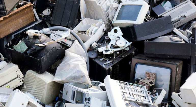Growing weight of 'e-waste'