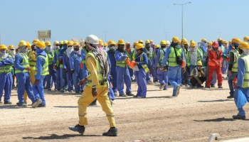 $466 billion as remittances from migrant workers worldwide in 2017