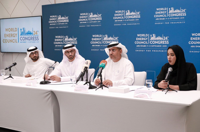 World Energy Congress, to be held in Abu Dhabi